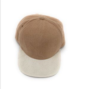 🎁 4/$25 NEW Gents off-white/Brown Snap Back Hat